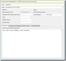 Conchango Scrum Template For Tfs V2 0 Beta 1 Elegantcode