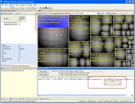 NDepend Screenshot 2