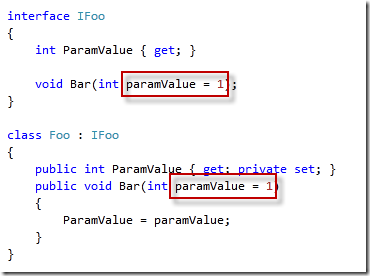 how to pass optional parameter in c