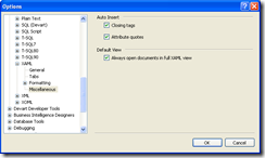 xaml options for opening in full xaml view