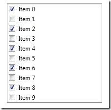 checklistbox